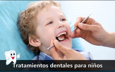 Tratamientos dentales para niños