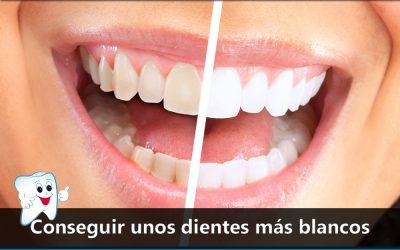 Conseguir unos dientes más blancos